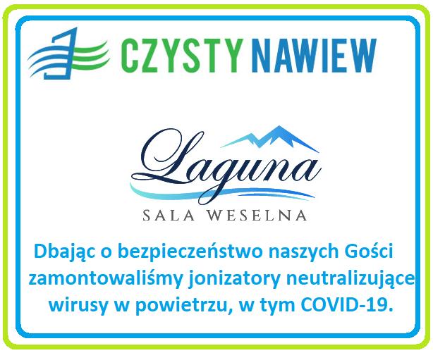 Jonizatory powietrza - COVID-19 - Sala Laguna Żywiec